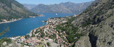 View over Kotor, Montenegro.