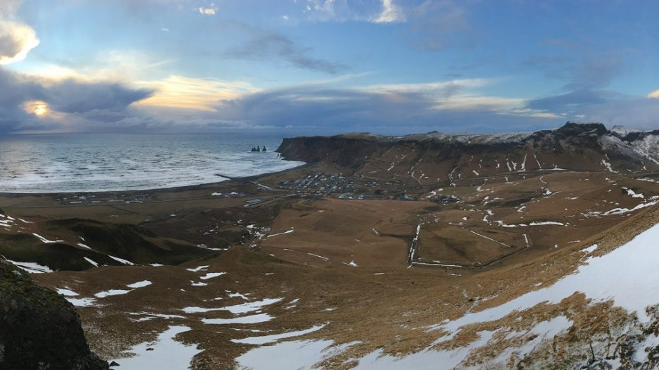 South Coast of Iceland near Vik